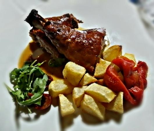 Espetcular cocina la de la Casa Da Urcela