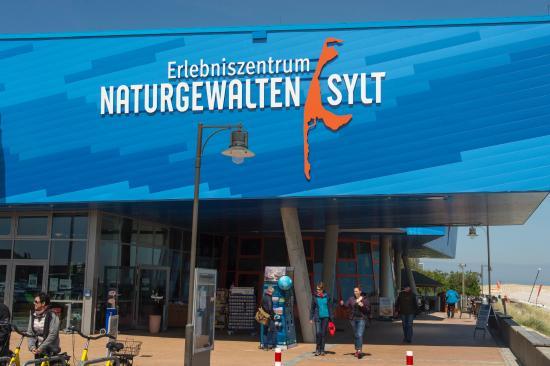 Erlebniszentrum Naturgewalten Sylt: Eingang
