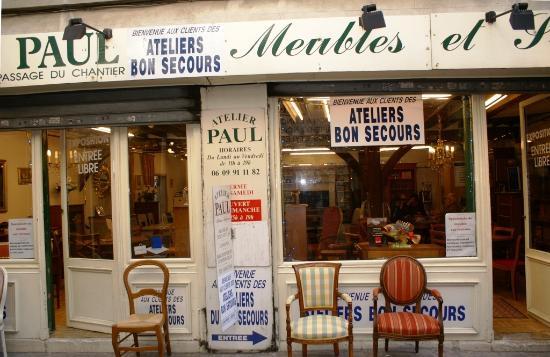 magasin de meubles passage du chantier picture of 12th arrondissement paris tripadvisor. Black Bedroom Furniture Sets. Home Design Ideas