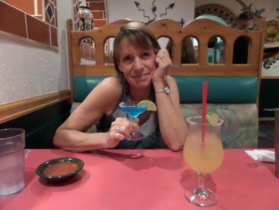 Los Agaves: Blue Margaritas!