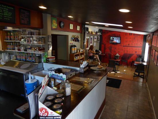 Beans Gourmet Coffee House: l'ensemble du restau