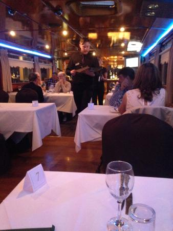 Restaurant Cruiser: The restaurant on the boat.