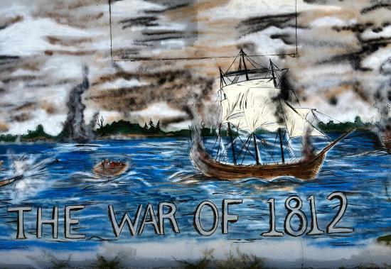 Ogdensburg, estado de Nueva York: mural