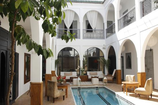 Patio du Riad Utopia Suites & Spa