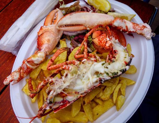 The Rocketeer Restaurant: lobster
