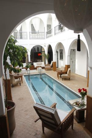 Riad Utopia Suites & Spa: Patio