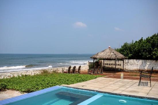 beach resort with private beach