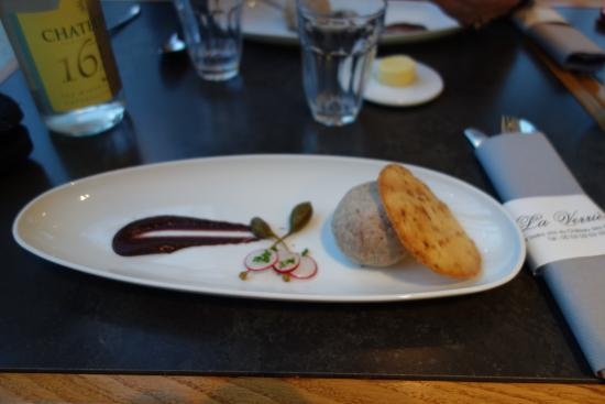 Chancelade, Frankrike: The chef's pate
