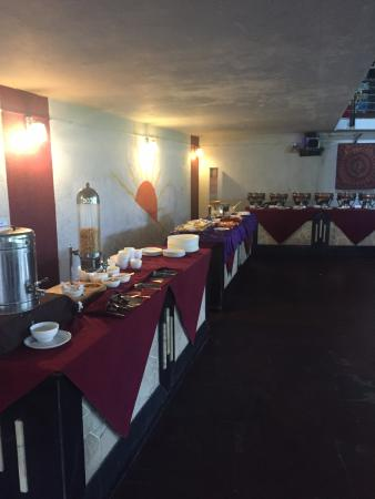 Manas Lifestyle The Eating Area