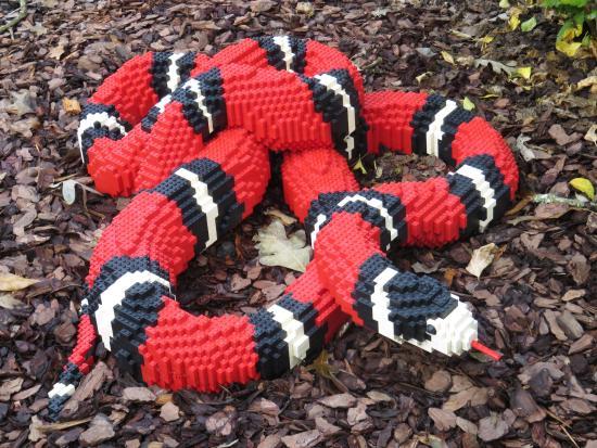 Atlanta Botanical Garden: Lego Snake