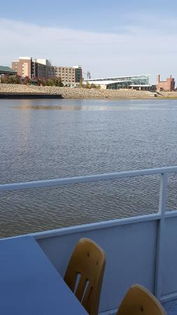 Dubuque, IA: view from boat