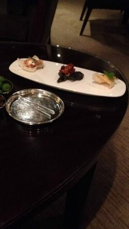 Simon Radley at The Chester Grosvenor: Canapes