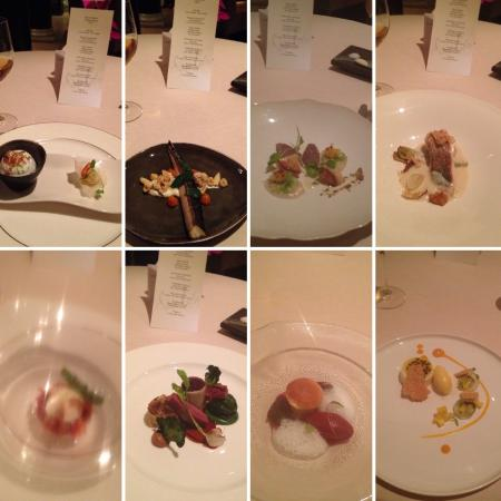 Simon Radley at The Chester Grosvenor: All 8 meals on the tasting menu