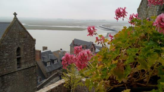 La Vieille Auberge: Потрясающий вид с террасы