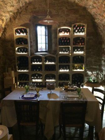 Ristorante La Cantina : sala degustazione