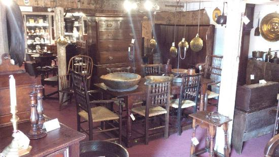Holt Antique Furniture: An Internal If A Little Hazy View Inside Our Larger  Store At