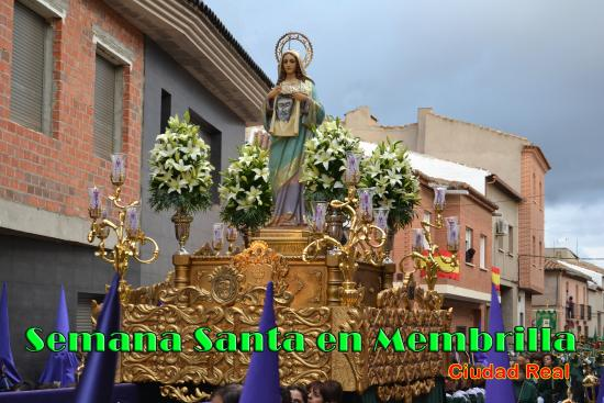 Province of Ciudad Real, Spain: Semana Santa en Membrlla