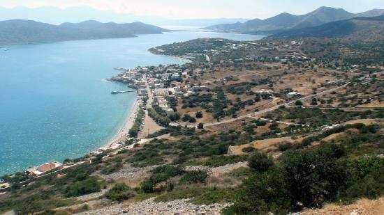 Elounda Breeze Resort : Golfe de Mirabello