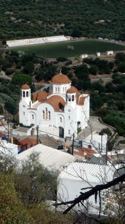 Elounda Breeze Resort : Kritsa un des plus beaux villages de Crète (l'église)