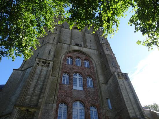 Nederlands Hervormde Kerk: Veere, la Grote Kerk.