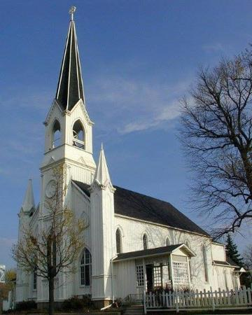 Lombard, IL: Maple Street Chapel Built in 1870
