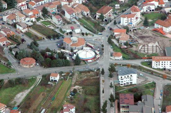 Pilonico Paterno, Italia: Vista área di Paterno