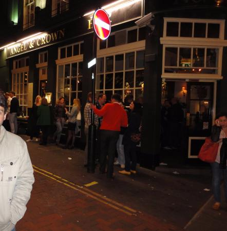 Photo of English Restaurant The Angel & Crown at 58 St. Martin's Lane, London WC2N 4EA, United Kingdom