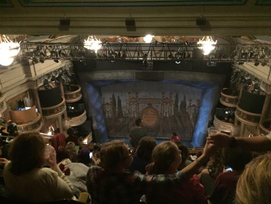 Charlie and chocolate factory picture of theatre royal for Balcony novello theatre