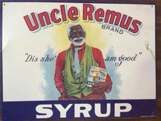 Duke's SlickRock Grill : Uncle Remus tin sign