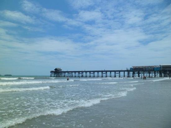 The pier picture of cocoa beach pier cocoa beach for Cocoa beach fishing pier