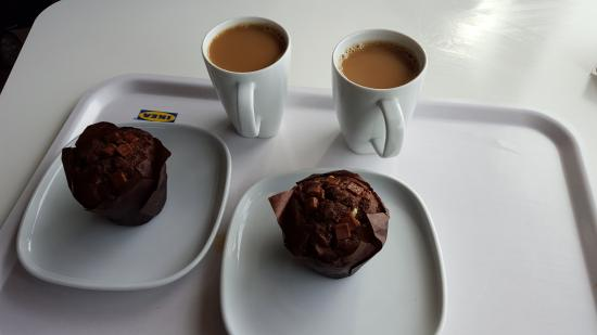 muffins and coffee 5 picture of ikea restaurant southton