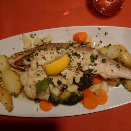 Weinstube Frey: Local fresh fish