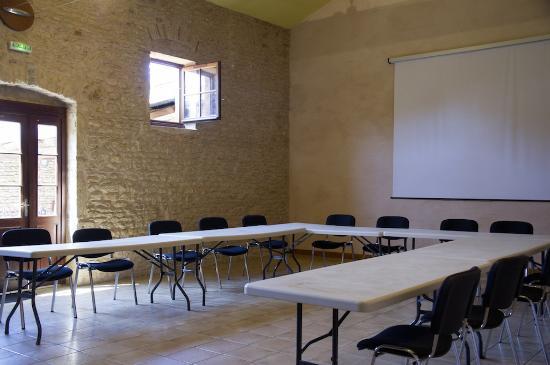 Relais Des Pierres Dorees : Salle de Séminaire