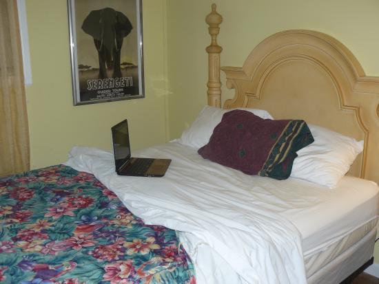 Atlantis Inn: bed