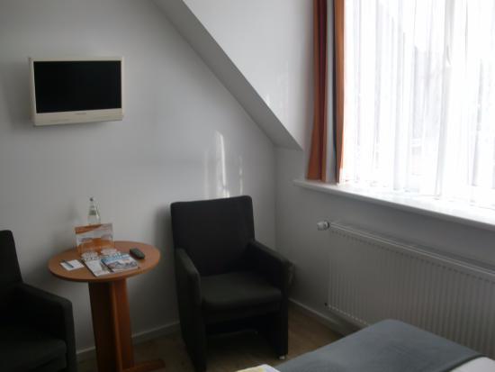 Hotel Meerzeit: camera ultimo piano
