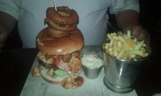 Seamer, UK: the ultimate burger at the mayfield