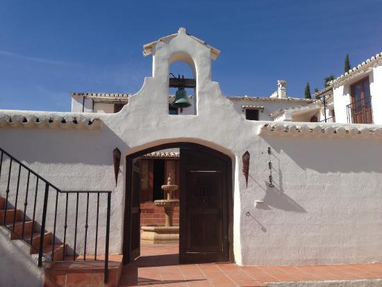 Cortijo Las Salinas: entrée principale
