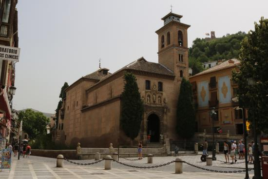 Picture of iglesia de san gil y santa ana - Santa ana granada ...