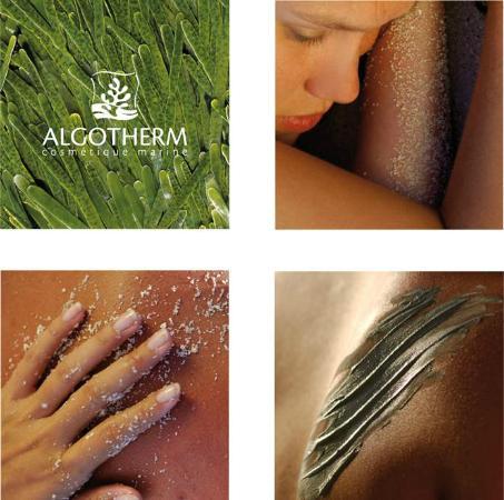 Spa Algua-Sulis: Ligne de produits Algotherm