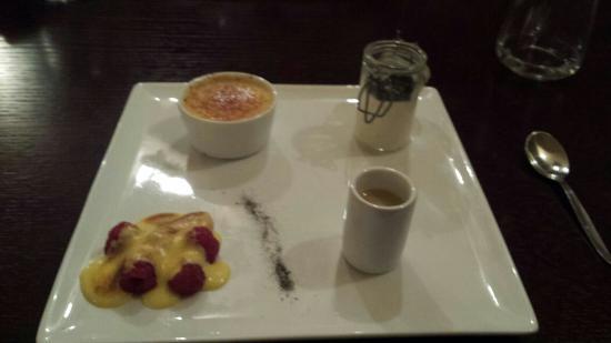 Ristorante Re Lear: Mixed desserts