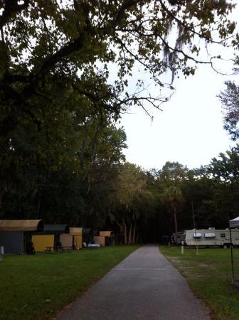 Nova Family Campground: My BIL said they looked like gypsy carts