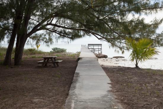 Abaco Islands: long wharf, Cherokee, Abaco