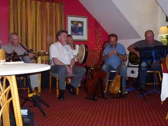 Melfort Village: Fabulous and casual Monday Music Night - not to be missed - in Shower of Herring Restaurant.