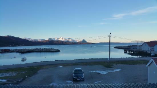 Sorkjosen, Norvegia: Flott utsikt