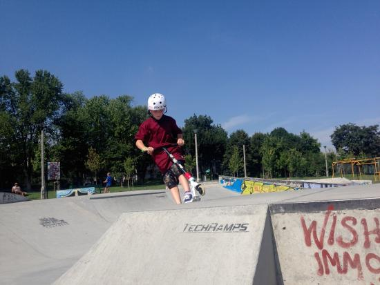 Mistrzejowice Skatepark