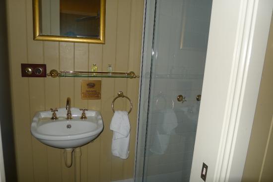 Branell Homestead Bed and Breakfast: La petite salle de douche