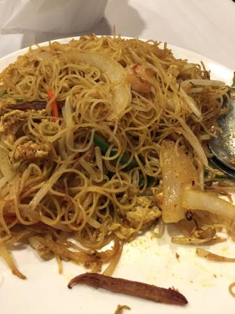 Singapore Noodles Excellent Obr Zek Za Zen Royal Garden Chinese Restaurant Honolulu