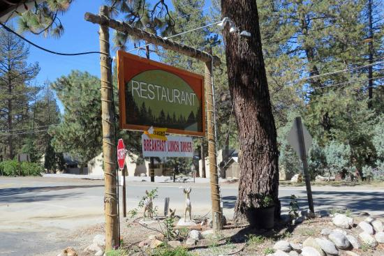 Idyllwild, CA: Mile High Cafe: