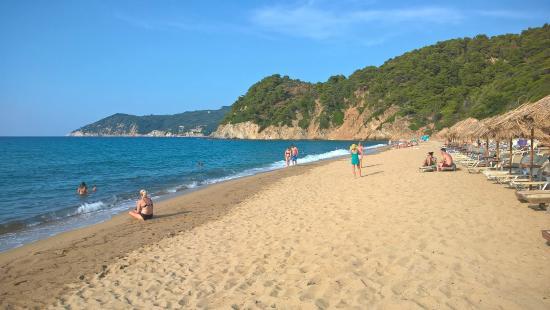 Megalos Aselinos Beach: muito espaço