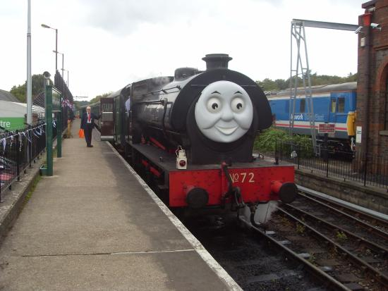 Thomas 39 s friend picture of spa valley railway royal for 15 royal terrace day spa